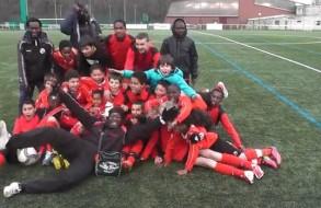 FCMA joie des U12 et U13 à Nandy