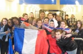 FCMA les filles au Stade de France
