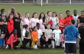 FCMA journée d'accueil du foot féminin - 1er juin 2013