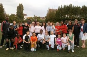 Journée d'accueil du foot féminin