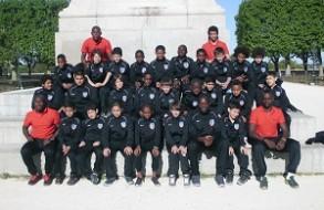 Les U13 à Montpellier en Avril 2014