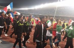 Défilé dans le stade Anoeta de la Real Sociedad pour la cérémonie d'ouverture du Tournoi International