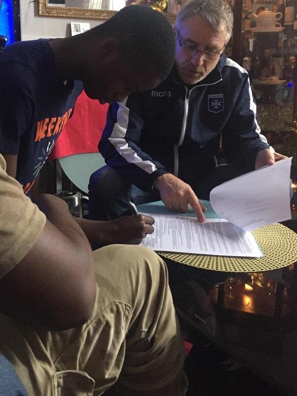 Info : Signature d'un jeune du FCMA dans un club pro